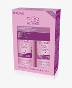 INOAR PÓS PROGRESS KIT (SHAMPOO + CONDITIONER)